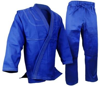 BJJ Gi, Single Weave, Blue