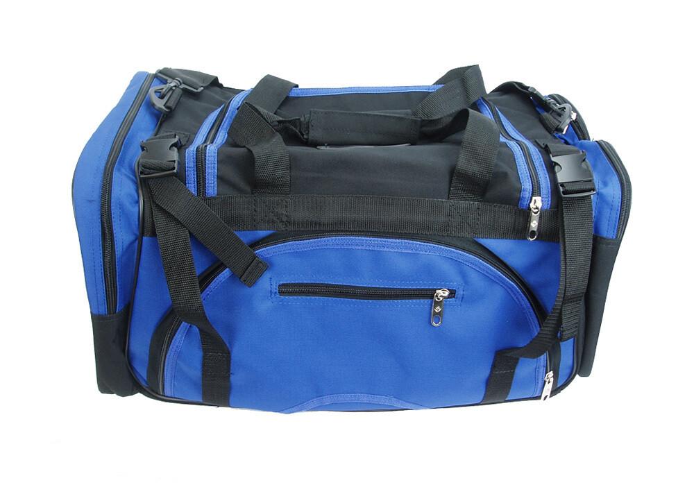 Gear Bag, Premier, Black Blue Combo
