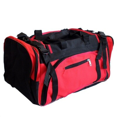 Gear Bag, Premier, Black Red Combo