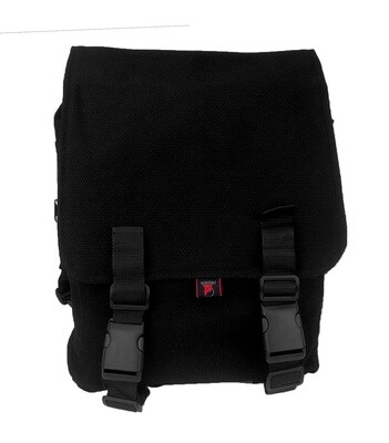 Jiu-Jitsu Back Pack- Gi Material, Black