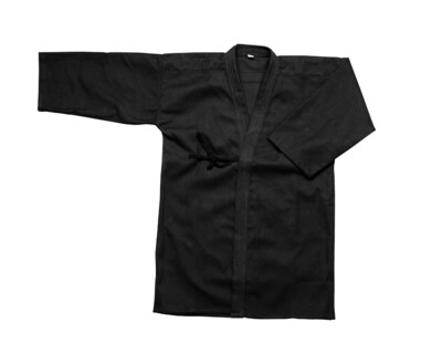 Kumdo Uniform, Jacket, Black
