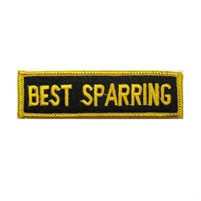 Patch, Achievement, Best Sparring