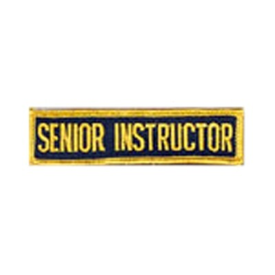 Patch, Achievement, Senior Instructor