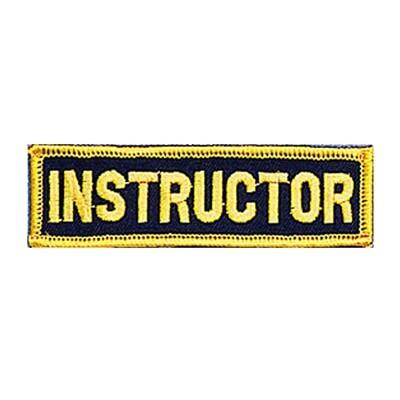 Patch, Achievement, Instructor