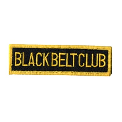 Patch, Achievement, Black Belt Club