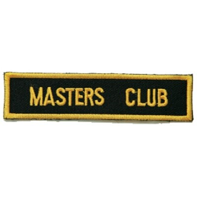Patch, Achievement, Master's Club