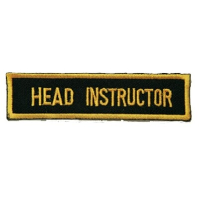 Patch, Achievement, Head Instructor