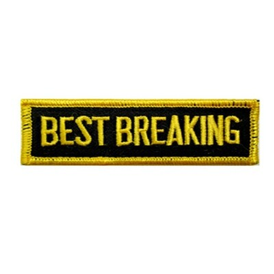 Patch, Achievement, Best Breaking