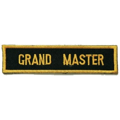 Patch, Achievement, Grandmaster
