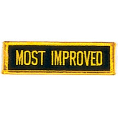 Patch, Achievement, Most Improved