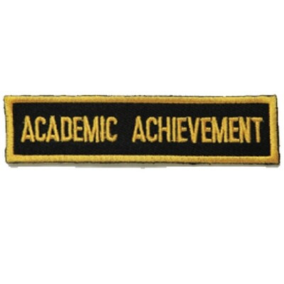 Patch, Achievement, Academic Achievement