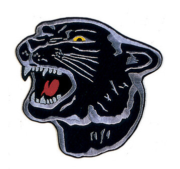 """Patch, Animal, Panther, 4"""""""