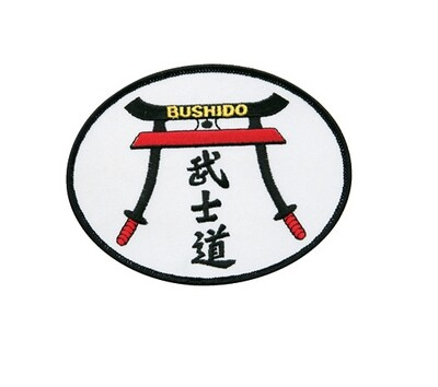 "Patch- Logo, Bushido, 5""W"