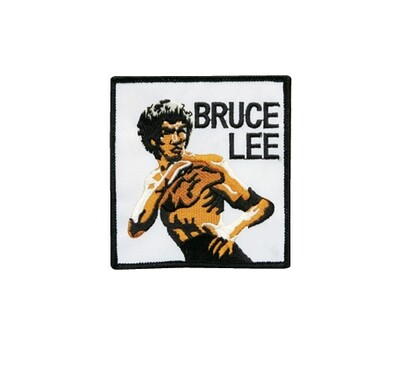 Patch- Logo, Bruce Lee, 4""