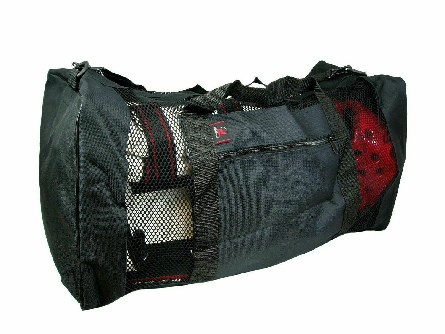 "Gear Bag, Full Mesh, 26""L, Black"