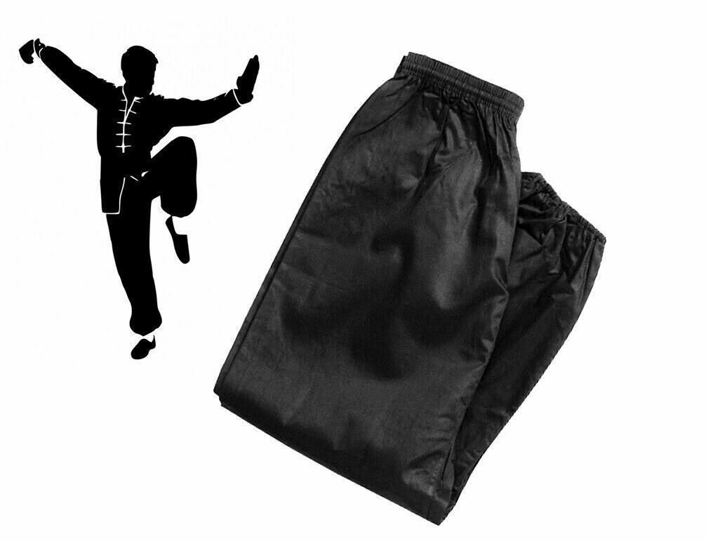 Kung Fu Pants, Black