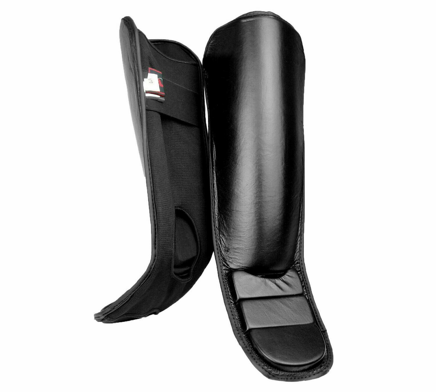 Shin and Instep Guard, Leather, Slip On