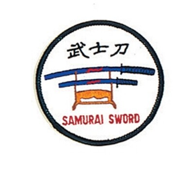 "Patch- Logo, Bushido, Circle, 4""W"