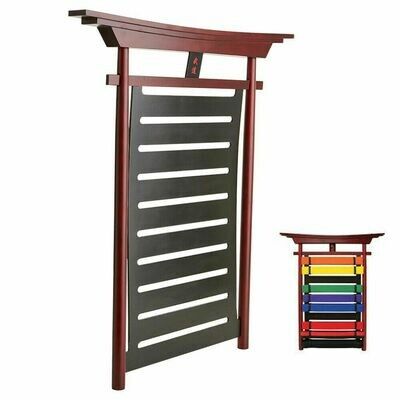 Budo Belt Display w/ Canopy