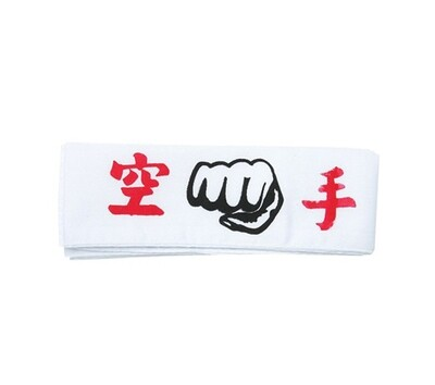 Head Band, Karate Fist