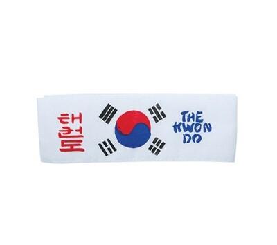 Head Band, Dragon, TKD Korean Flag