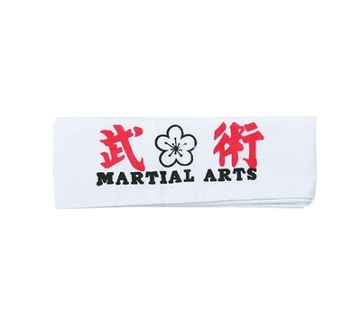 Head Band, Martial Arts Flower