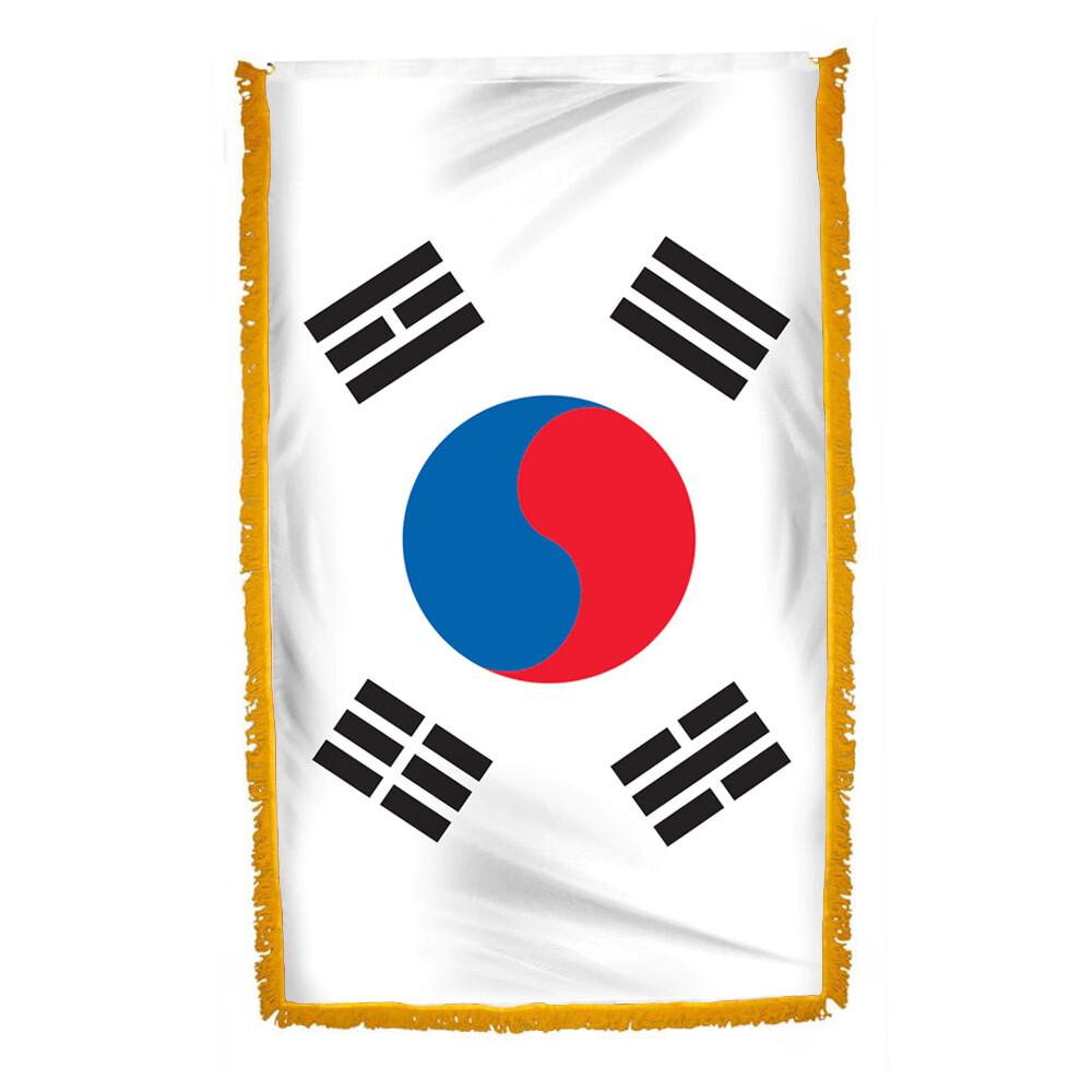 Flag South Korea, with Tassel