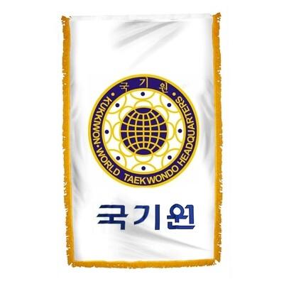 Flag, Kukkiwon, with Tassel