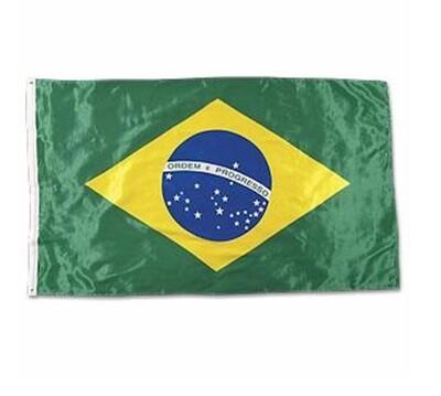 Flag Brazil, without Tassel