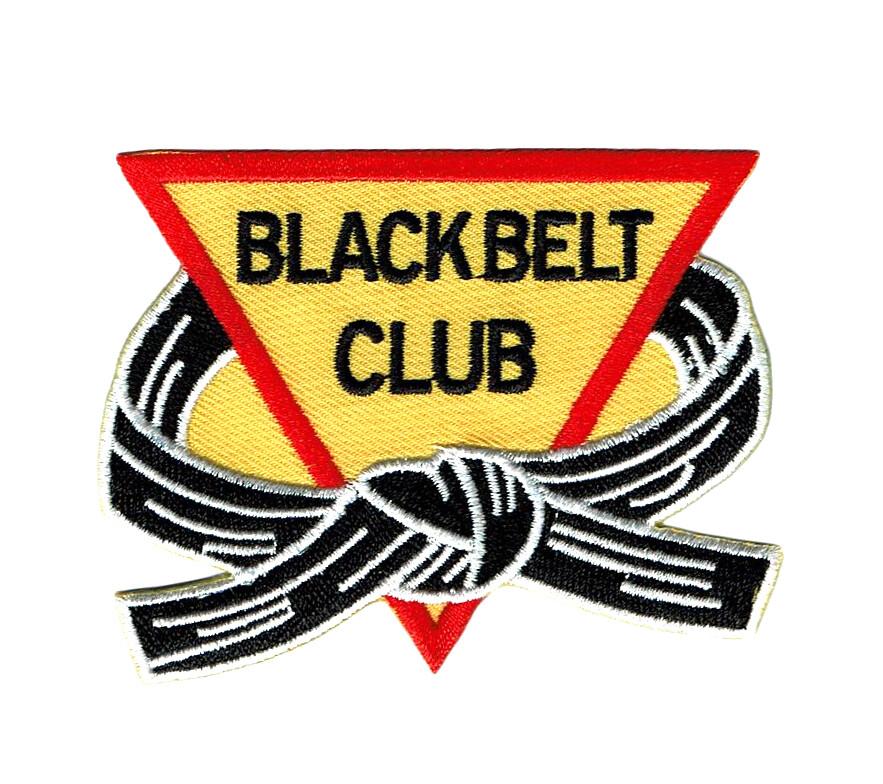 Patch, Team, Black Belt Club inside Belt/Trangle
