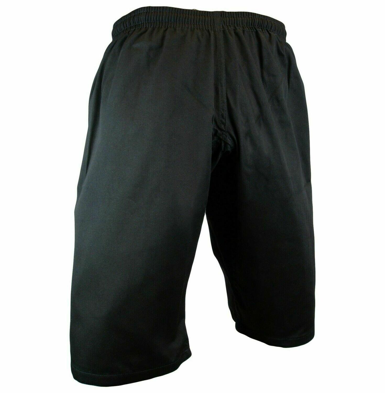 Karate Uniform, Pants, Shortcut, Light Weight, Black