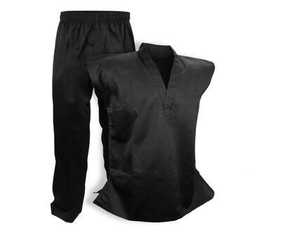 Taekwondo Uniform, Sleeveless, Black