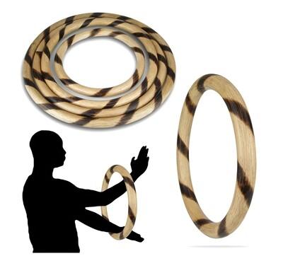 Wing Chun Ring, Hand/Leg Strengthener, Spiral Burnt Rattan