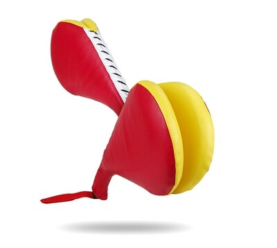 Double Paddle, Child, Vinyl, Red