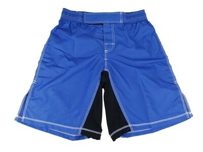 MMA Shorts,  Elastic Waist, Blue