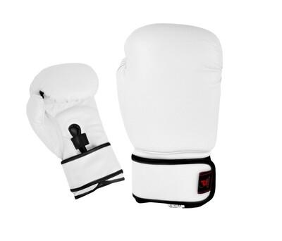 Boxing Gloves, Vinyl, White