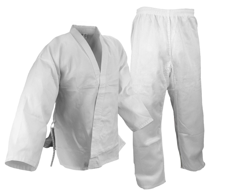 Karate Uniform, Medium Weight, White