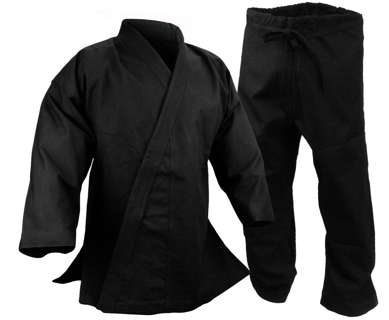Karate Uniform 14 oz., Black