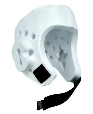 Head Gear, Foam, White