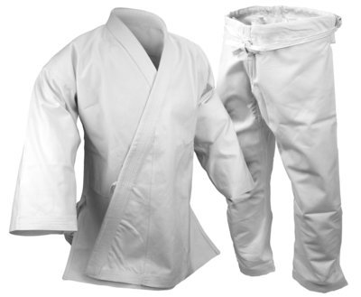 Karate Uniform 14 oz., White