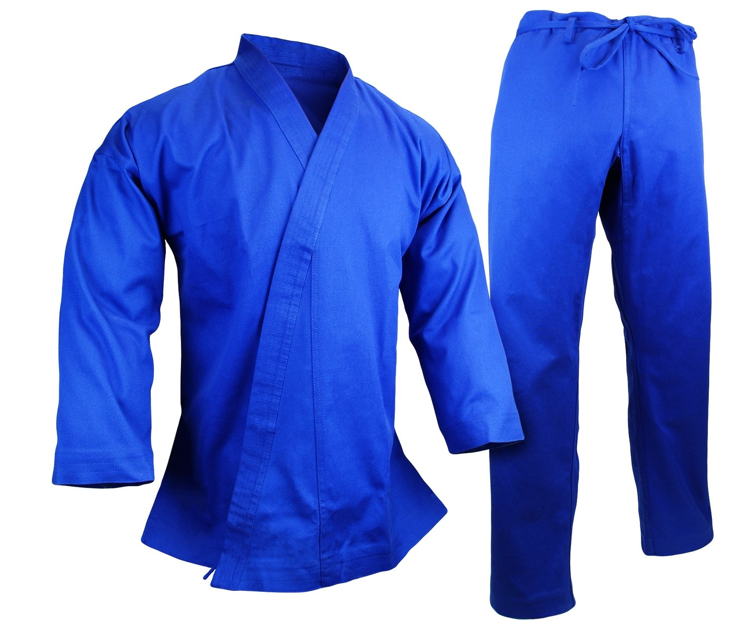 Karate Uniform 12 oz., Blue