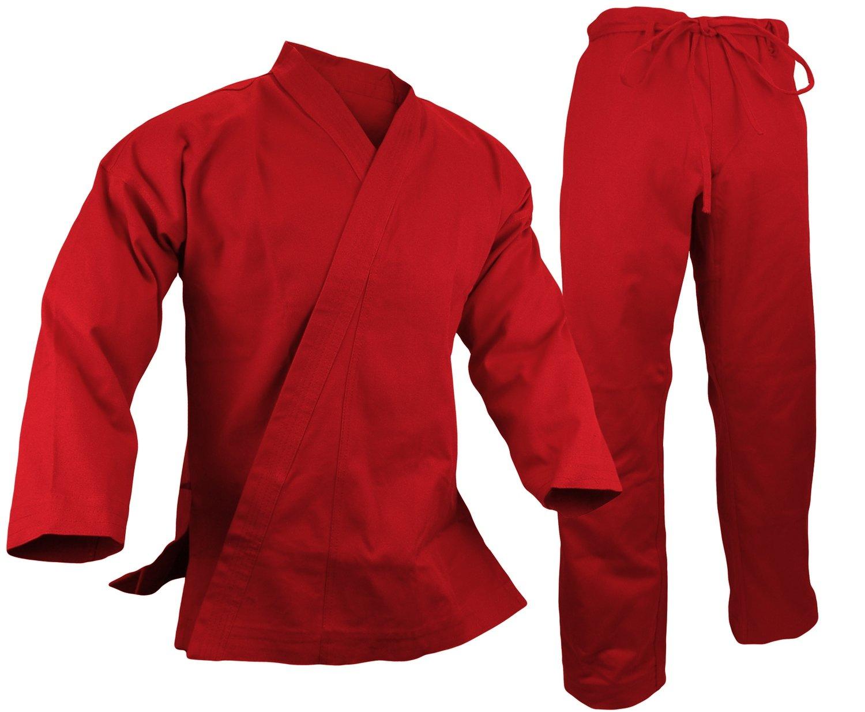 Karate Uniform 12 oz., Red