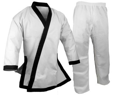TangSooDo Uniform, 12 oz., Black Trim
