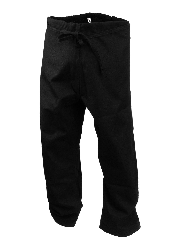 Karate Uniform, Pants, 14 oz., Black