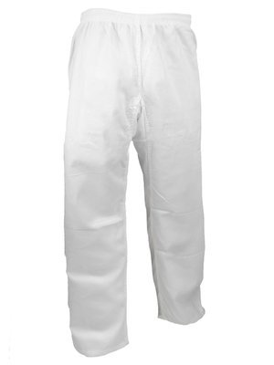 Karate Uniform, Pants, Light W't., White