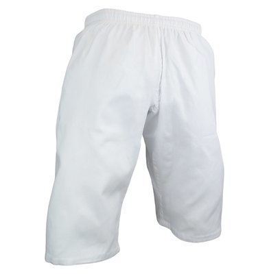 Karate Uniform, Pants, Shortcut, Light W't., White