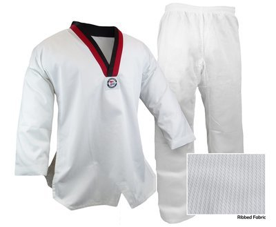 Taekwondo Uniform Ribbed, Poom
