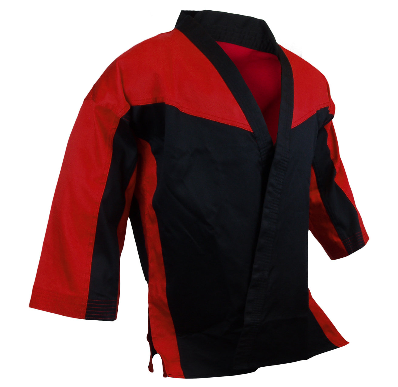 Team - Jacket Open, Red/Black Combo