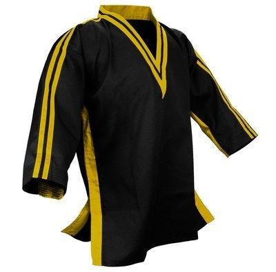 Team - Jacket V-neck, Black/Yellow Combo