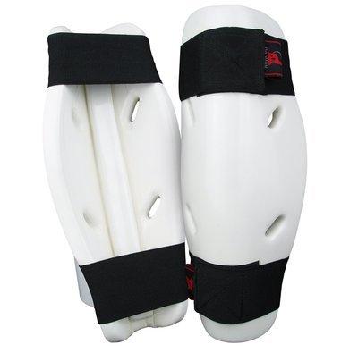 Shin Guard, Foam, White